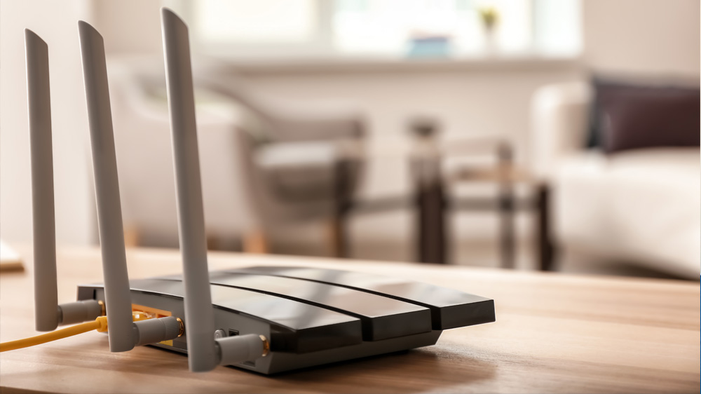 home router from home