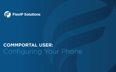 CommPortal User: Configuring Your Phone