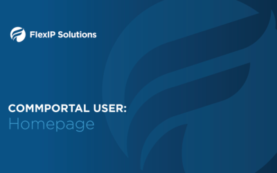 CommPortal User: Home Page