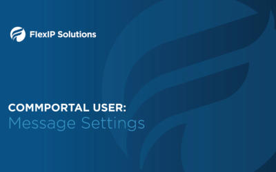 CommPortal User: Message Settings