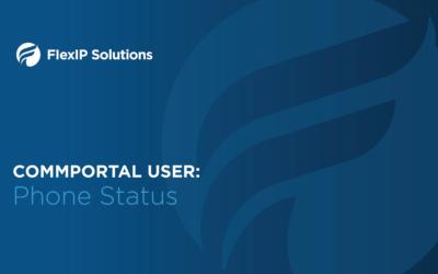 CommPortal User: Phone Status