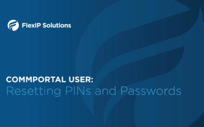 CommPortal User: Resetting PINs and Passwords
