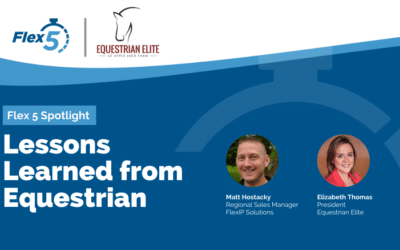 Flex 5 Spotlight: Lessons Learned from Equestrian