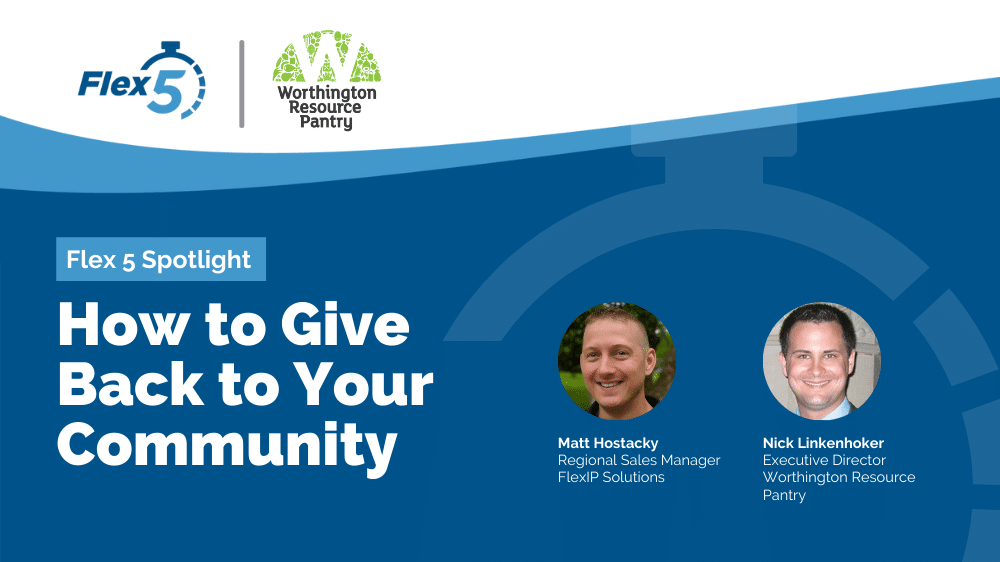 Flex 5 Spotlight: How to Give Back to Your Community