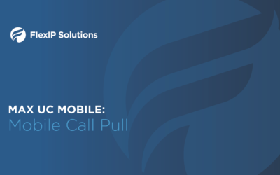 MaX UC Mobile: Call Pull Tutorial
