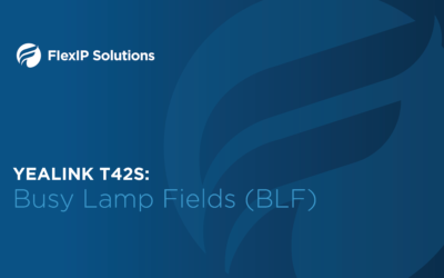 Yealink T42S: Busy Lamp Field
