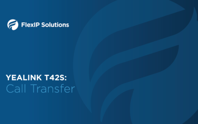 Yealink T42S: Call Transfer
