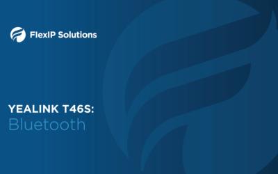 Yealink T46S: Bluetooth