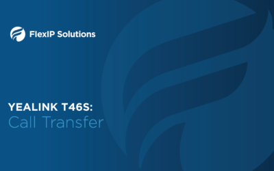 Yealink T46S: Call Transfer