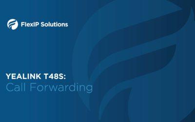 Yealink T48S: Call Forwarding