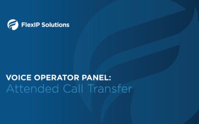 Voice Operator Panel: Attended Call Transfer