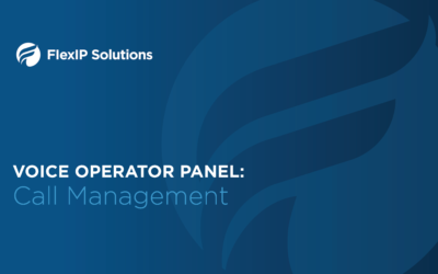 Voice Operator Panel: Call Management