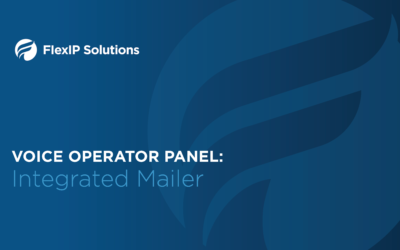 Voice Operator Panel: Integrated Mailer