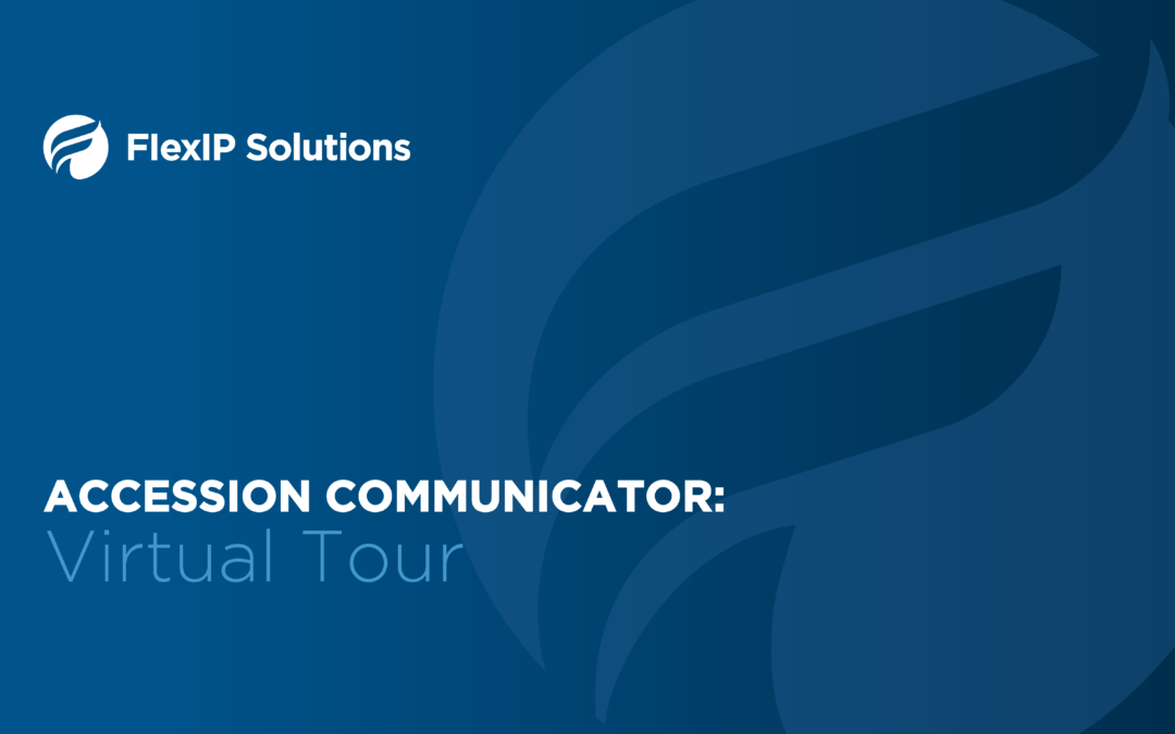 Virtual Tour of Accession Communicator