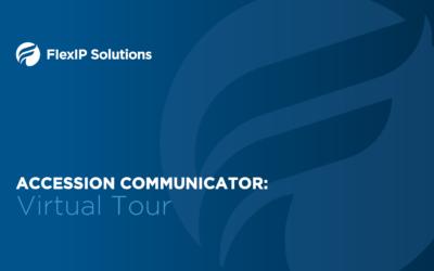 Virtual Tour of Accession Communicator